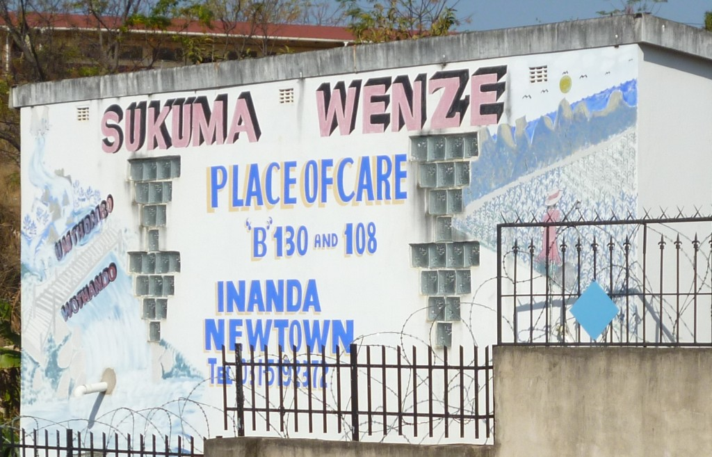 Sukumawenze is a hospice in eNanda